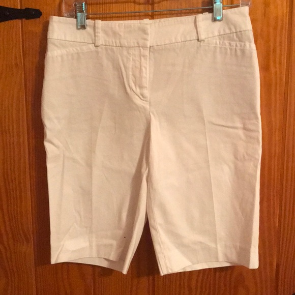 Talbots Pants - EUC Talbots white Bermuda shorts